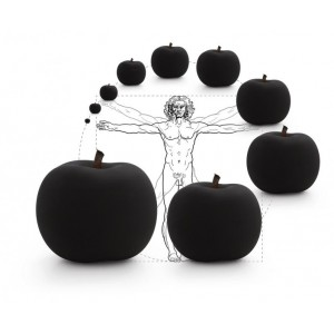 CERAMIC APPLE SCULPTURES